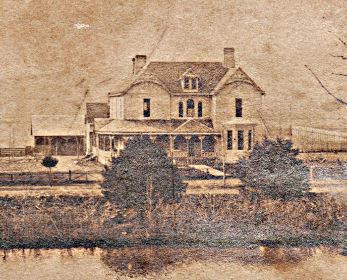 Clay Faulkner's Falcon Rest Mansion when it was built in 1896-97