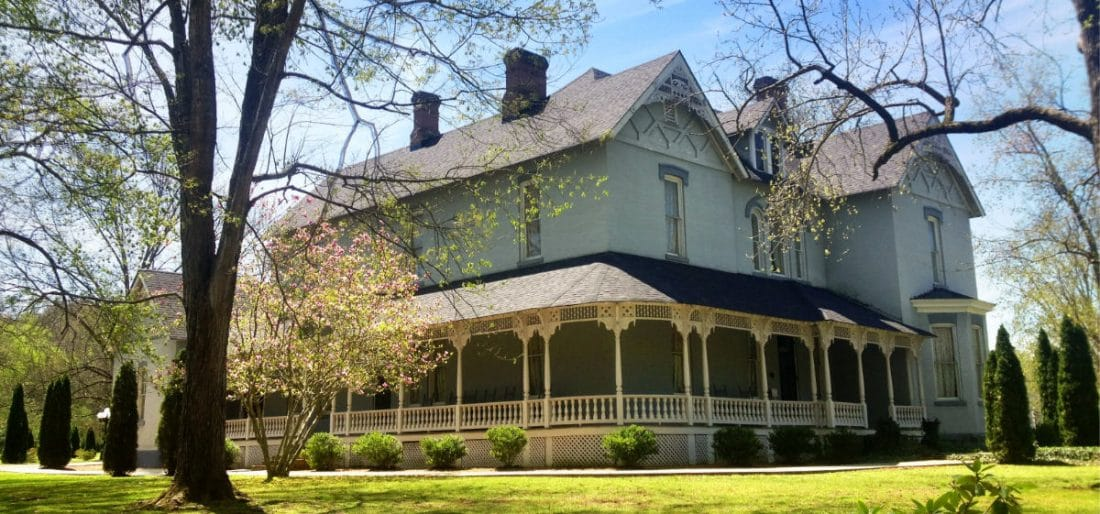 Falcon Rest Mansion, historic house tour in McMinnville, Tenn., halfway between Nashville and Chattanooga