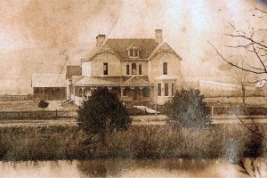 History of Falcon Rest Mansion, McMinnville, TN. 1897 view