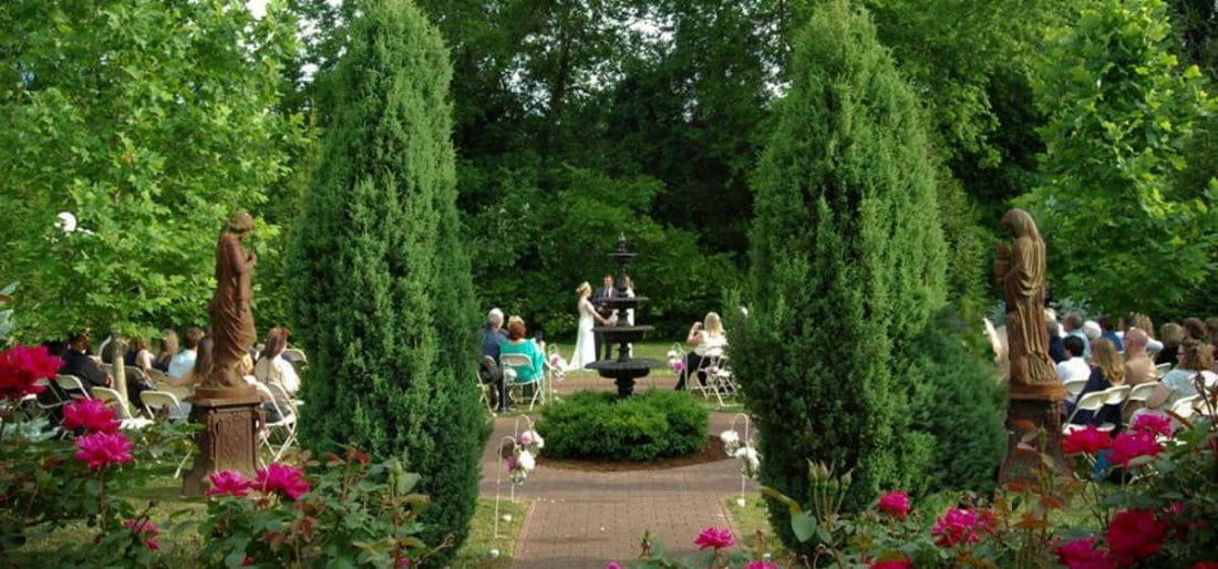Tennessee Wedding Reception Venue Falcon Rest Mansion Gardens