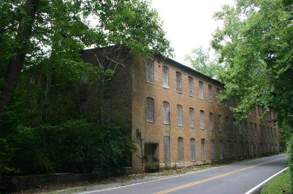 Great Falls Cotton Mill at Rock Island, Tenn.
