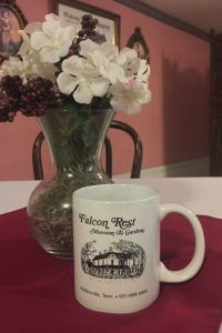 Falcon Rest Mansion souvenir coffee mug