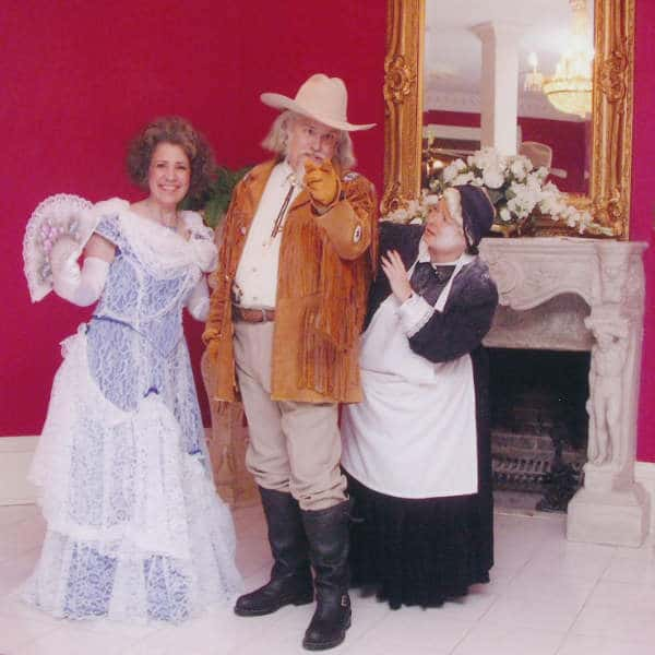 Murder at the Mansion, Falcon Rest Mansion & Gardens motorcoach group entertainment