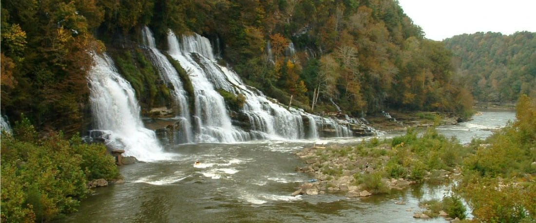 Things to do near Twin Falls at Rock Island State Park, near McMinnville, Tenn.