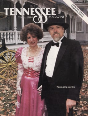 Falcon Rest Mansion restoration, 1994 Tennessee magazine cover